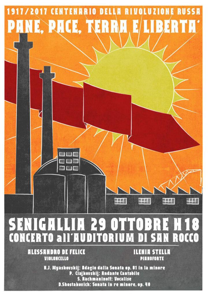 Locandina concerto 29 Ottobre 2017